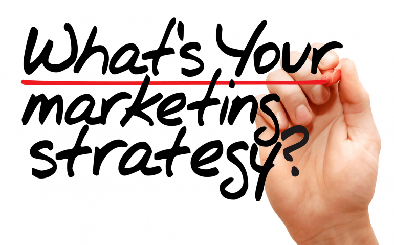 What'sYourMarketingStrategybusinessconcept